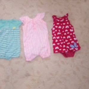 3 rompers